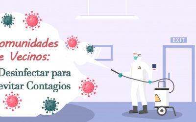 Comunidades de vecinos: Desinfectar para evitar contagios