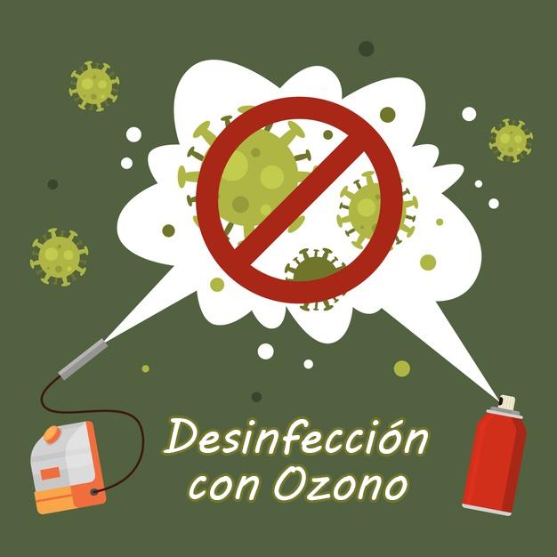 Limpieza con ozono en Madrid: 30 m2 limpios de Covid-19 en 15 minutos