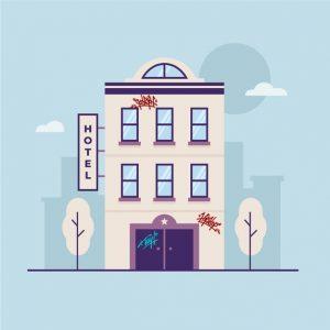 Limpieza de Fachadas en hoteles