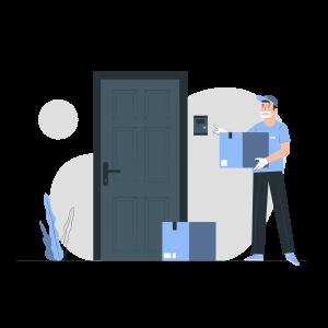 Recepción de paquetes en apartamentos