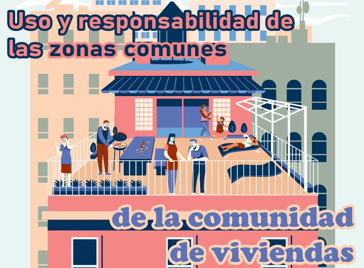 Uso y responsabilidad de las zonas comunes de la comunidad de viviendas