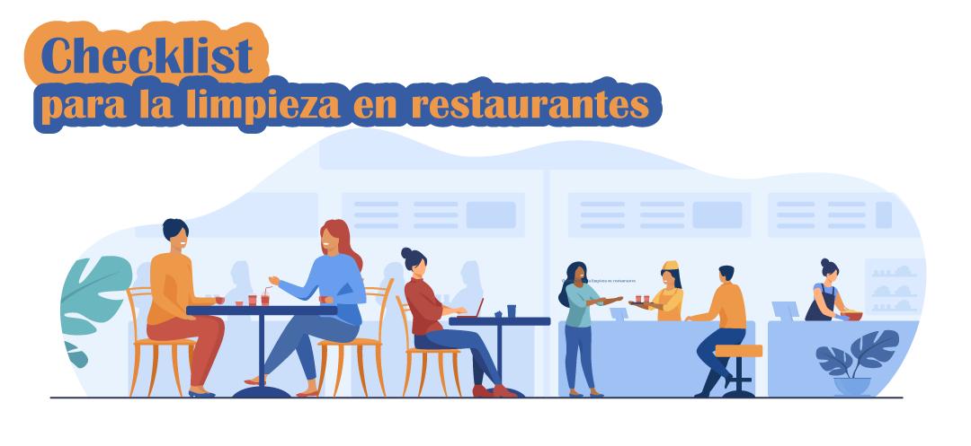 Checklist para la limpieza en restaurantes