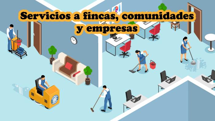 Servicios a fincas, comunidades y empresas