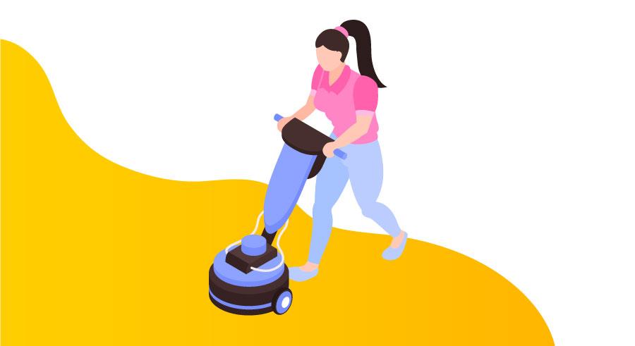 pulir suelos de terrazo